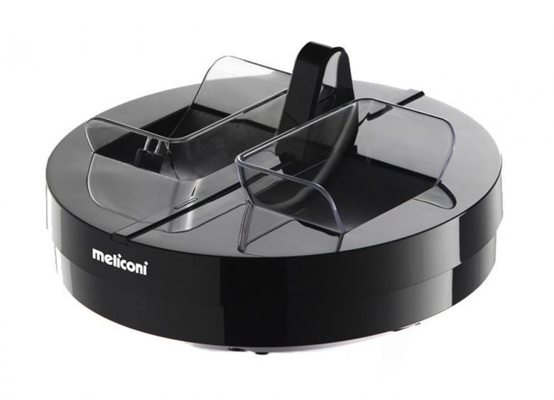 MELICONI 300 Professional, edulliset, langattomat RF-kuulokkeet, päivittäiseen käyttöön jopa 100 metrin toimintasäteellä, automaattinen taajuuden viritys kuulokkeiden ja tukiaseman välillä, kolme vaihtoehtoista kanavaa, toiminta-aika noin 8 tuntia, taajuusvaste 20 - 20000Hz, toimitus sisältää kuulokkeet, lataus-/lähetinyksikkö, verkkovirtajohto, audiokaapeli 3,5 mm, ladattavat AAA-akut 2 kpl, takuu 2 vuotta