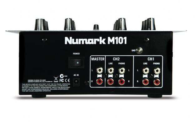 NUMARK M101 Professional Scratch Mixer, 2–Kanavainen DJ-mikseri. Miksaa miksaa ja kerran vielä miksaa! Tiskijukat tarvitsevat aina järkevän hintaista mikseriä hyvillä ominaisuuksilla. Tämä kaksi kanavainen mikseri tarjoaa loistavat ominaisuudet pikkurahalla.Cd tai vinyylisoittimen, padin tai puhelimen yms.