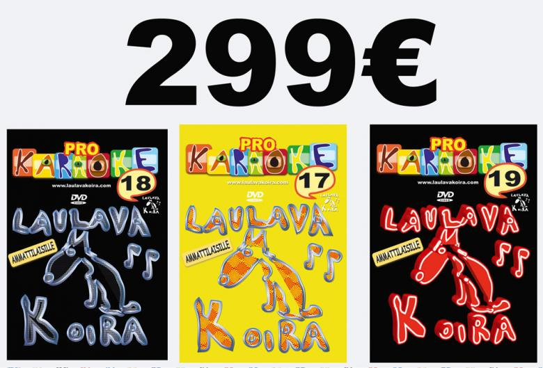 LAULAVAKOIRA LaulavaKoira Pro 17,18 ja 1, discoland.fi