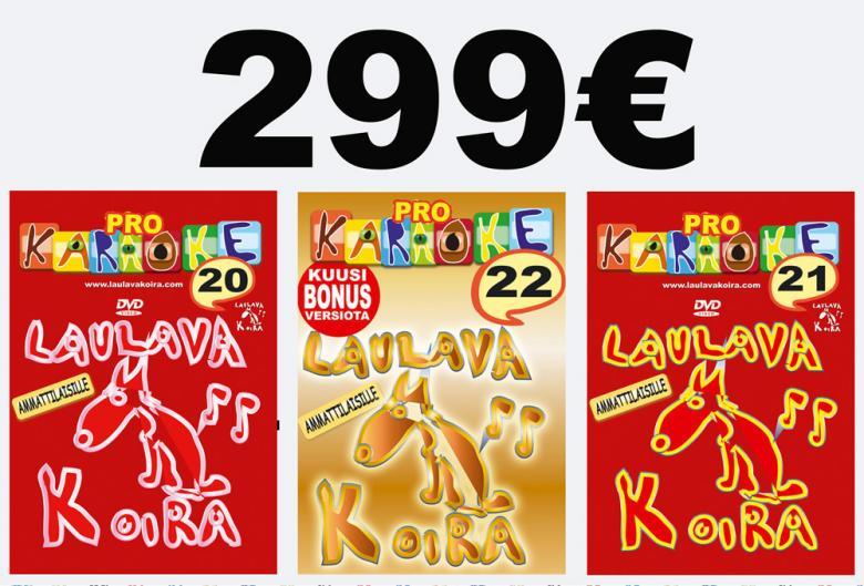 LAULAVAKOIRA LaulavaKoira Pro 20,21 ja 2, discoland.fi