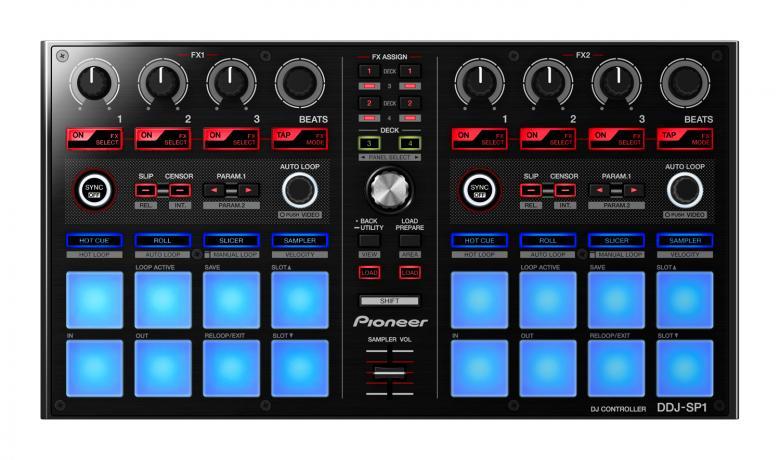 PIONEER Loppu!DDJ-SP1 Serato DJ-kontroll, discoland.fi