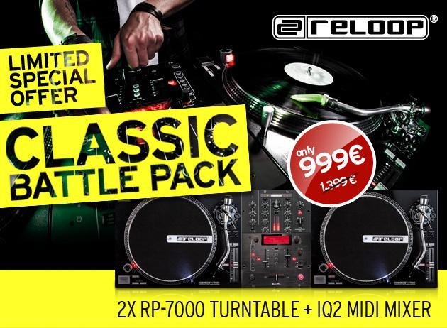 RELOOP Classic Battle Pack-2x RP-7000 DJ, discoland.fi