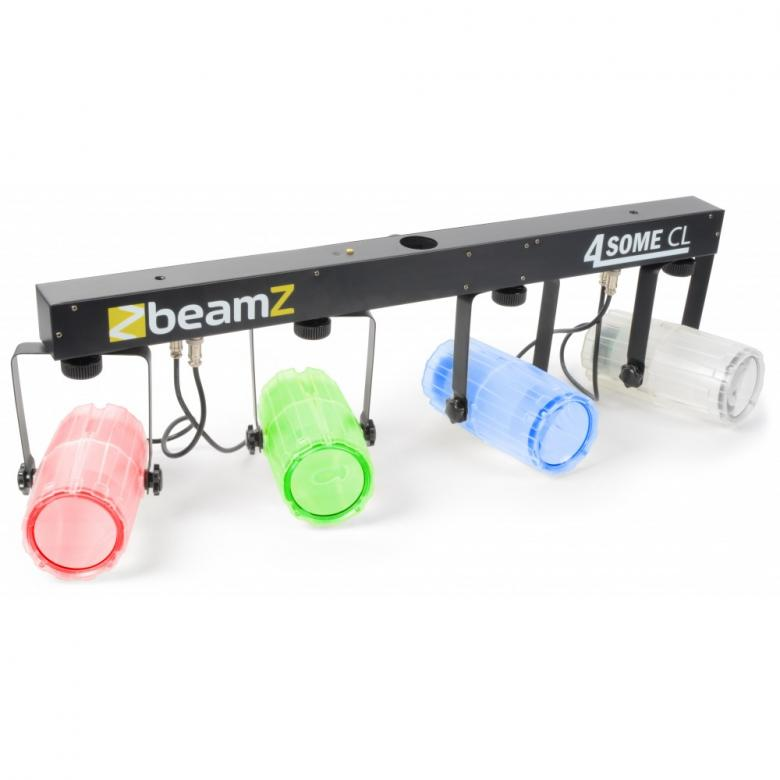 BEAMZ 4-Some LED-valosetti 4x57 RGBW DMX, discoland.fi