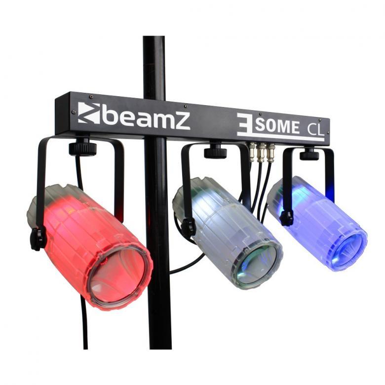 BEAMZ 3-Some Valosetti 3x 57 RGBW LED-va, discoland.fi