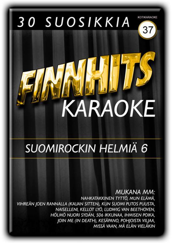 FINNHITS VOL 37 Suomirockin Helmiä 6 DV, discoland.fi