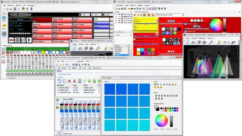 IMG STAGE LINE SUSHI DS Uusi huipputuote DMX-valojen ohjaukseen 128ch. Käytä ilmaisohjelmistoa joka on saatavilla DMXSOFT.COM sivustolta valo-shown luomiseen, Markkinoiden pienin ja edullisin DMX-ohjain on nyt tässä. Koko: 8cm x 1cm Paino 50g. Sushi-DX on Nicoleaudie Groupin tuote, joka on suunniteltu toimimaan useilla Nicoleaudie ohjelmistoilla, kuten Sunlite Suite, Sunlite Suite 2, Sunlite 2004 Express, Easy Stand Alone, Easy Stand Alone 1, ESA 2, Daslight Virtual Controller 1,-2,-3, Lumidesk Express. Saatavana valmiit ohjainkirjastot ohjaamaan yli 15.000 eri laitetta yli 500 eri valmistajalta. Yhteen toimivuus Windows, MAC, Android...