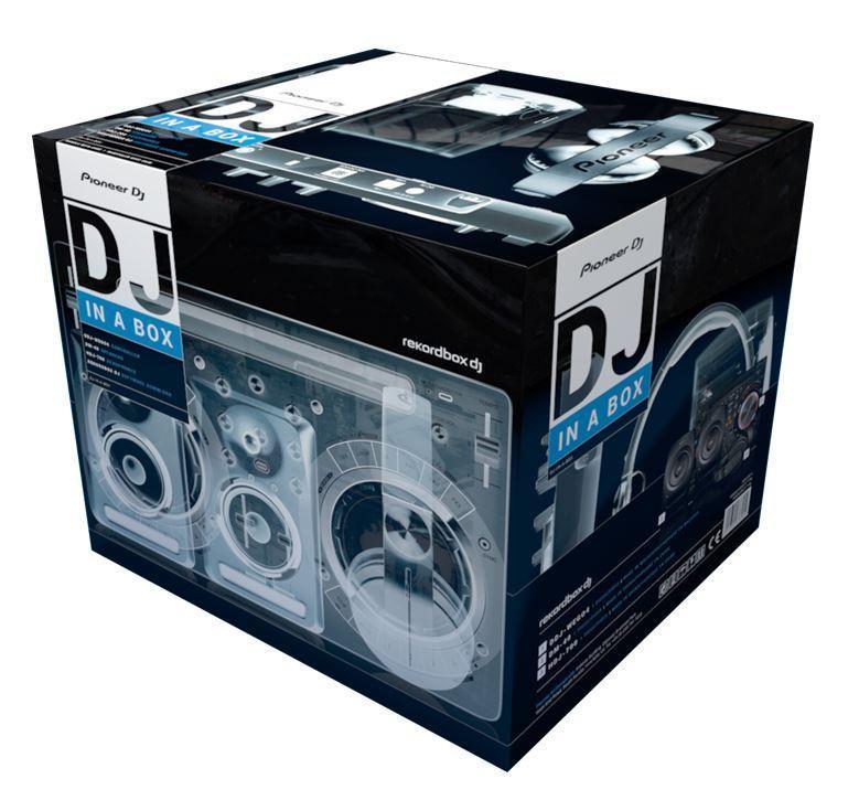 PIONEER DJ Starterpack Starttipaketti DDJ-WeGo4 kontrolleri DM-40 kaiuttimet sekä HDJ-700 kuulokkeet ja vielä Rekordbox DJ ohjelmisto. Kontrolleri Ipad& Iphone telineellä. Tässä ohjaimessa on kaikki se, mitä DJ tarvitsee – yhdessä lujatekoisessa paketissa. Ei tosin sisällä iPadia! Kuulokkeet : HDJ-700K Musta DJ-kuuloke on huippulaatua 2000mW sekä 105 dB äänenpaine. Sanka ruostumattomasta teräksestä, 60- asteen kääntyvä sanka. Kaiuttimet: DM-40 Aktiivimonitori pari 4