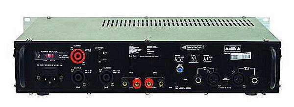 OMNITRONIC P-250 Päätevahvistin, amplifier, 2x125W, 4Ohms