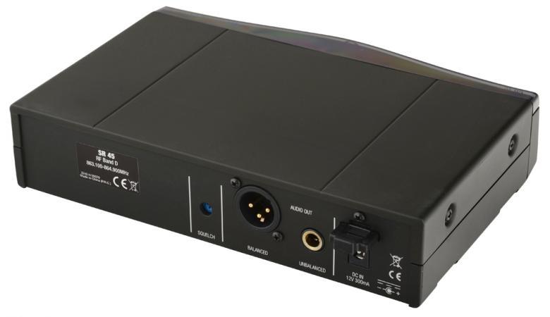 AKG PW45 WMS45 Sport Set langaton mikrofoni järjestelmä, 6 vaihdettavaa taajuutta, pääpantamikrofonilla. Joustava langaton mikrofonijärjestelmä laulu ja puhekäyttöön. Taloudellinen toiminta-aika yhdellä AA-alkaliparistolla n. 8 tuntia. Perception Wireless Vocal Set tarjoaa loistavan äänen ja on yllättävän helppo käyttää.6 - 9 samanaikaisesti toimivaa taajuutta, maksimaalinen luotettavuus diversityvastaanottimilla, erinomaisen audiolaadun takaavat samat mikrofonit ja kapselit kuin muissakin järjestelmissä ja 100 % yhteensopivuus vanhan WMS 40-sarjan ja