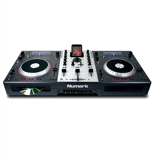 NUMARK Mixdeck, Monipuolinen DJ työasema, CD soittimet, jotka toimivat USB Kontrollerina, Universal DJ System!
