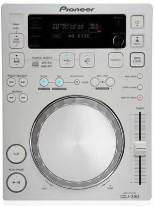PIONEER 350PACK 2xCDJ350 1xDJM350 Mikseri. + HDJ-500 DJ Kuuloke Sekä kuljetus Case , PRO-DJ-Tuote, Kaikki valkoisena!