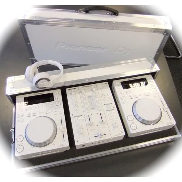 PIONEER PRO-350-FLT-W valkoinen Case(kul, discoland.fi