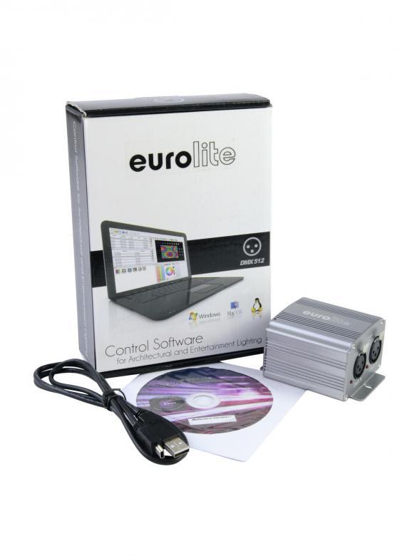 EUROLITE LED PC-Control 1024 512 DMX val, discoland.fi