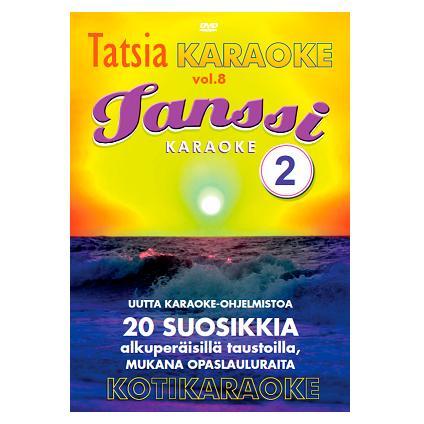 TATSIA Kotikaraoke Vol 8 Tanssi 2 - DVD,, discoland.fi