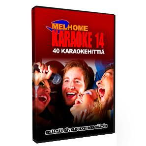MELHOME Vol 14 KARAOKE DVD levyll� on 40, discoland.fi