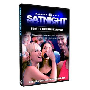SATURDAYNIGHT Karaoke vol 3 karaoke DVD , discoland.fi