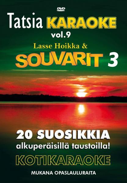 TATSIA Kotikaraoke Vol 9 Souvarit 3-DVD , discoland.fi