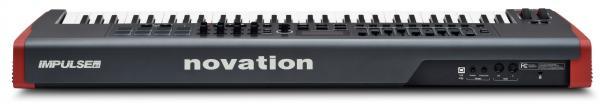 NOVATION Impulse 61 monipuolinen USB-MIDI-kosketinohjain. Novation Impulse - Tarkka ja nopea MIDI-kontrolleri Impulse on Novationin uusin ammattitason USB/MIDI-kontrolleri-sarja, jossa on entistäkin parempi koskettimisto ja säätimet sekä uusi versio Novationin Automap-softasta – Automap 4. Impulsessa on myös 8 taustavalaistua painiketta joilla voi kontrolloida arpeggioita, biittejä ja laukoa äänileikkeitä Ableton Livessä. ja-syntetisaattorit/midi-keyboardit/novation-impulse-61-monipuolinen-midi-kosketinohjain.