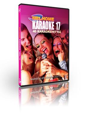 MELHOME Vol 17 KARAOKE DVD levyllä 40 k, discoland.fi