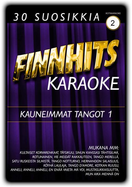 FINNHITS VOL 2 Kauneimmat tangot 1 DVD K, discoland.fi