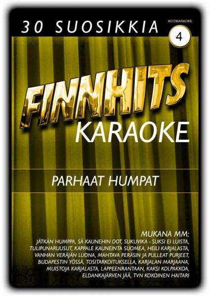 FINNHITS VOL 4 Parhaat humpat Karaoke DV, discoland.fi