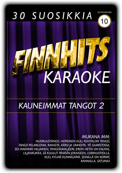FINNHITS Vol 10 Kauneimmat tangot 2 DVD , discoland.fi