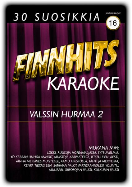 FINNHITS Vol 16 Valssin hurmaa 2 Karaoke, discoland.fi