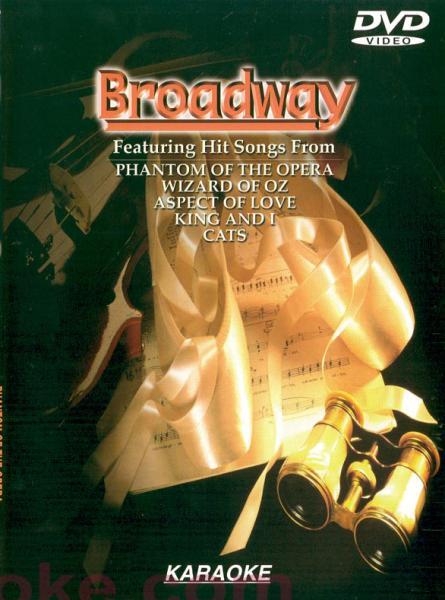 DVD KARAOKE Broadway Karaoke DVD, huippu, discoland.fi