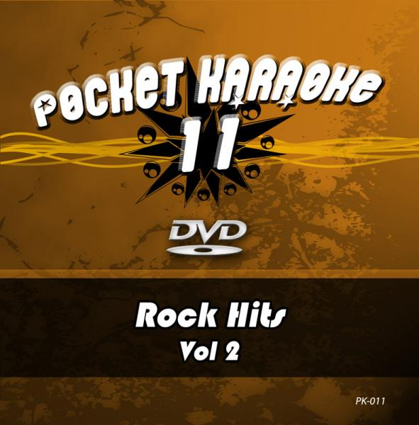 POISTO Pocket Karaoke Vol 11 - Rock Hits Vol 2 Karaoke DVD sisältää kappaleet: 01. NOVEMBER RAIN - GUNS 'N ROSES