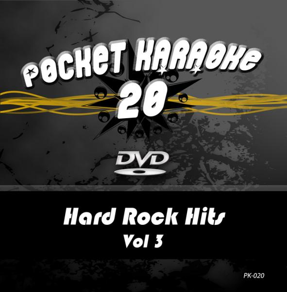 POISTO Pocket Karaoke Vol 20 - Hard Rock Hits Vol 3 Karaoke DVD sisältää kappaleet: 01 STAIRWAY TO HEAVEN - LED ZEPPELIN<br />