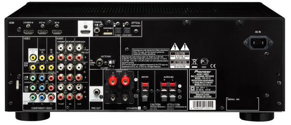 PIONEER VSX-430K Viritinvahvistin 5x 130W Musta, 5.1-kanavainen HDMI 3D AV -vastaanotin, jossa HD-ääni. HD-kotiteatterin keskeiset ominaisuudet eivät maksa omaisuuksia: VSX-430 on tästä todiste. Sillä nautit mukaansatempaavasta 5.1 HD Surround Äänestä. Phase Control eliminoi viiveen 5 kanavan välillä ja parantaa huomattavasti monikanavaääntä elokuvia katsottaessa.