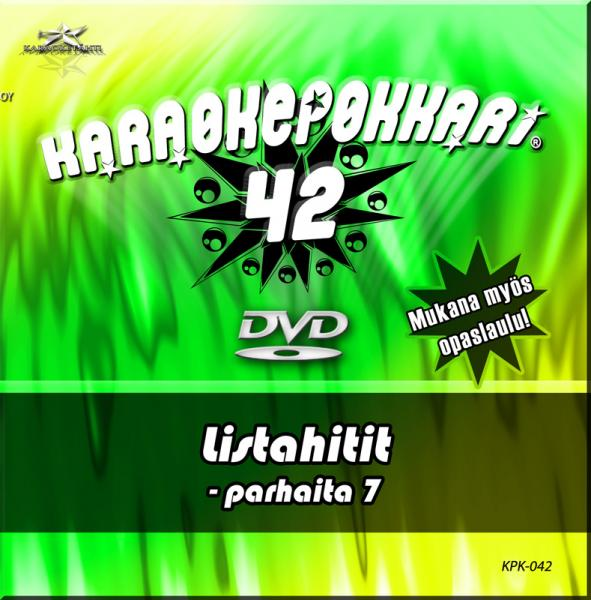 KARAOKEPOKKARI DVD Karaokepokkari 42 -Li, discoland.fi