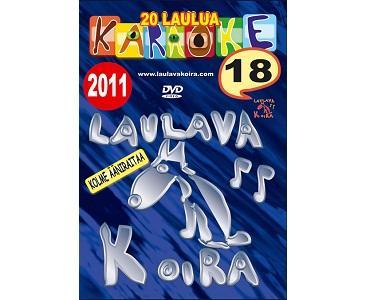 LAULAVAKOIRA TUPLA DVD Laulavakoira 18+1, discoland.fi