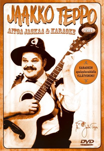 KARAOKE DVD JAAKKO TEPPO - aitoa Jaskaa , discoland.fi