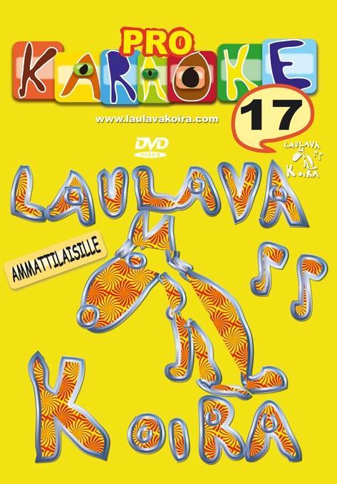 LAULAVAKOIRA LaulavaKoira Pro 17 (DVD) -, discoland.fi
