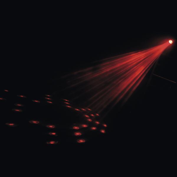 SCANIC Loppu!LED Moonflower II, Perinteinen moonflower efekti! Typical moonflower effect!