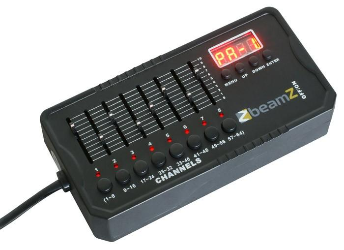 BEAMZ DMX512 Mini Valo Ohjain 9V akku mu, discoland.fi