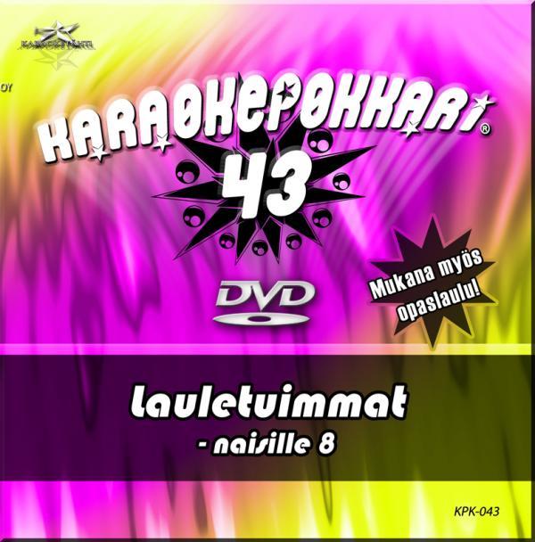 KARAOKEPOKKARI DVD Karaokepokkari 43 - L, discoland.fi