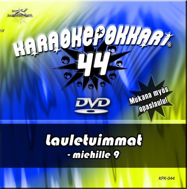 KARAOKEPOKKARI DVD Karaokepokkari 44 Lau, discoland.fi