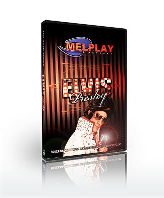 MELHOME Karaoke DVD Elvis Presley VOL 1 Ammatti sekä Kotikäyttöön Levyllä 50 kappaletta. 01. That's all right (mama)