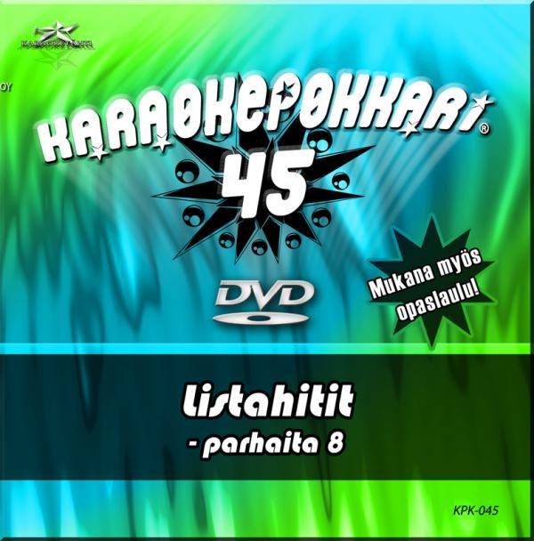 KARAOKEPOKKARI DVD Karaokepokkari 45 - P, discoland.fi