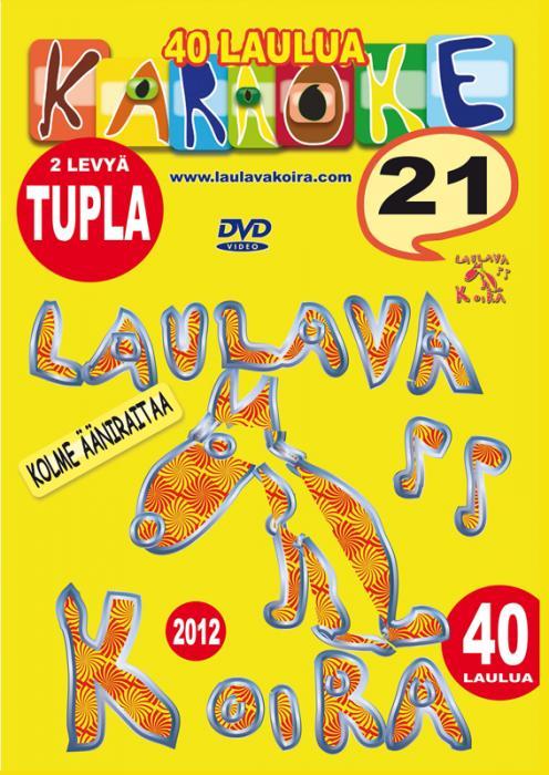 LAULAVAKOIRA TUPLA DVD Laulavakoira 21 t, discoland.fi