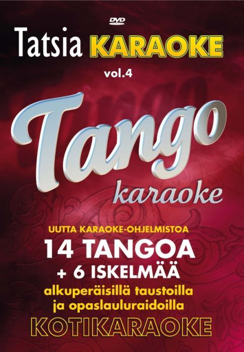 TATSIA Kotikaraoke Vol 4 Tango - DVD, t�, discoland.fi