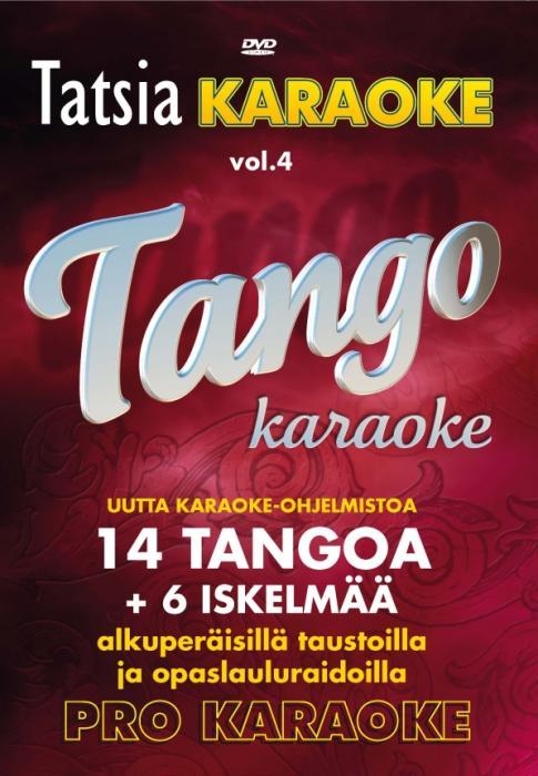 TATSIA Pro Karaoke Vol.4 - Tango - Karao, discoland.fi