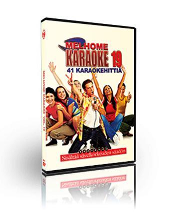 MELHOME Vol 19 KARAOKE DVD Mahtava levy , discoland.fi