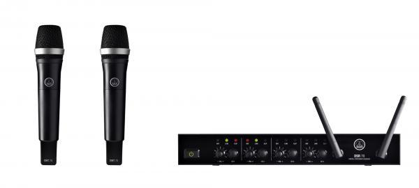 AKG DMS70 Quatro VOCAL SET DUAL P5 langa, discoland.fi