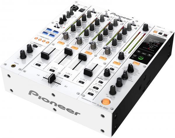 PIONEER DJM-850W DJ mikseri. Valkoinen D, discoland.fi