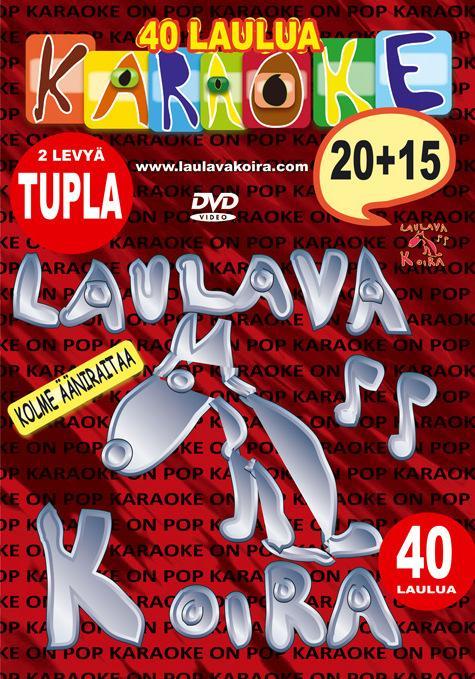 LAULAVAKOIRA VOl 20+15 kotikaraoke TUPLA, discoland.fi