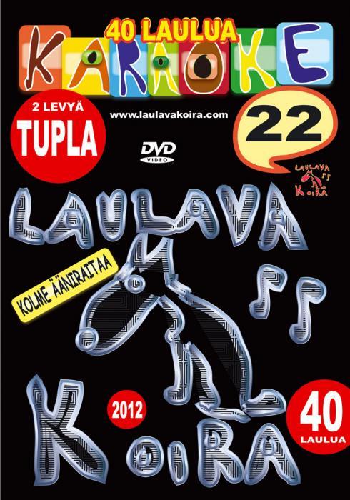 LAULAVAKOIRA TUPLA DVD Laulavakoira 22 (, discoland.fi