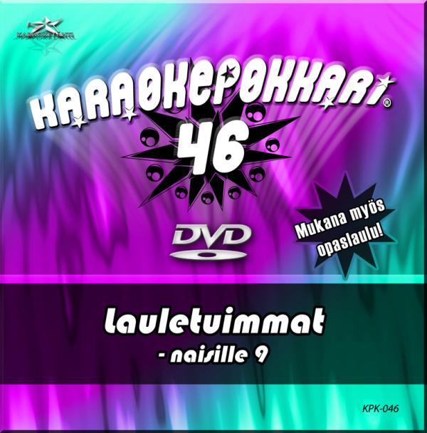 KARAOKEPOKKARI DVD Karaokepokkari 46 - L, discoland.fi